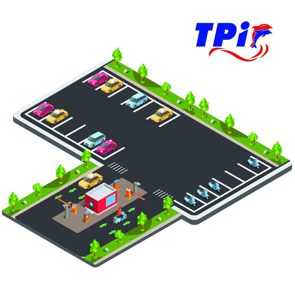 Hình ảnh minh họa bãi đỗ xe thông minh